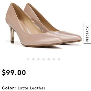 (New in box) NATURALIZER Natalie Leather Heel; 12